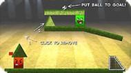 Игра Забей мяч в ворота