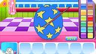 Игра Красивые пасхальные яйца