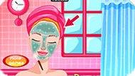 Игра Макияж принцессы Барби