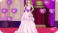Игра Одевалка принцессы Барби