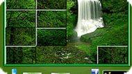 Игра Пазл водопад