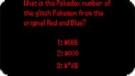 Игра Тесты покемоны