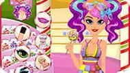 Игра Прически сладкого флирта