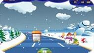 Игра Зимняя трасса