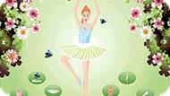 Игра Одевалка для балерины