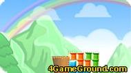 Игра с цветными кубиками