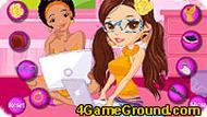 Социальная девочка