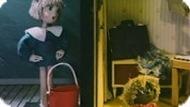 Игра Домовенок Кузя и Наташа