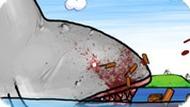 Игра Большая бешеная акула