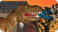 Игра Динозавр Рекс в городе Лос-Анджелес