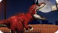 Игра Динозавр Рекс в Париже — Симулятор Динозавра