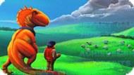 Игра Динозавр и Человек