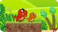 Игра Еда динозавра