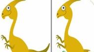 Игра Найди отличия Динозавра