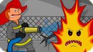 Игра Пожарные 4: брандспойт