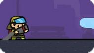 Игра Пожарный против зомби-демонов
