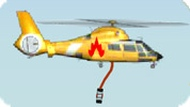 Игра Пожарный вертолет