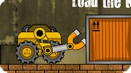 Игра Робот погрузчик на складе