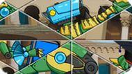 Игра Роботы Пазлы