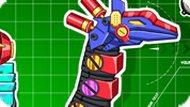 Игра Собирать Роботов Динозавров — для Малышей