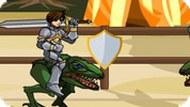 Игра Сражение на Динозаврах