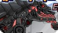 Игра Тирекс: собери робота-динозавра
