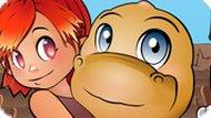 Игра Вырасти динозавра — для девочек