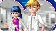 Игра Леди Баг: Урок химии