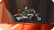 Игра Юные Титаны Гонки на мотоцикле