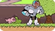 Игра Юные Титаны Вперед 9: Прогулка с Силки