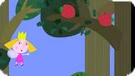 Игра Маленькое Королевство Бена И Холли: Собери Клубнику