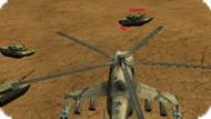 Игра Русский Вертолет Ми-24 против Танков
