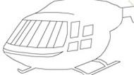 Игра Вертолеты раскраска