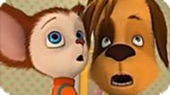 Игра Барбоскины: Пазл Дружок и Малыш