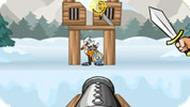 Игра Разрушение Замков Из Пушки