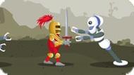Игра Роботы Рыцари