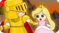 Игра Рыцарь Спасает Принцессу