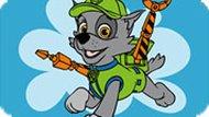 Игра Щенячий патруль: Раскраска Рокки