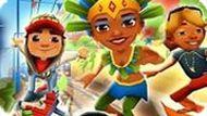 Игра Сабвей Серф 2: Рио