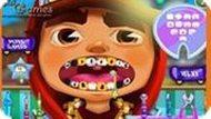 Игра Сабвей Серф: Лечение Зубов