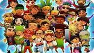 Игра Сабвей Серф: Все Вместе