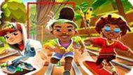 Игра Сабвей Серф Золотоискатели: Бегать Мальчиком И Девочкой И Собирать Монеты
