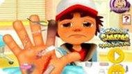 Игра Сабвей Сёрферс: Джейк В Больнице