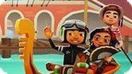 Игра Subway Surfers: Венеция — Собираем Пазл