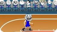 Игра Троллфейс Спорт: Баскетбол