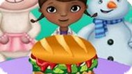Игра Доктор Плюшева: Королевский Гамбургер