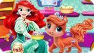 Игра Кошечка Принцессы Ариэль