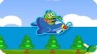 Игра Крокодильчик Свомпи 5: Леталка-Стрелялка Для Детей