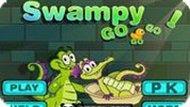 Игра Крокодильчик Свомпи 6: Гонка