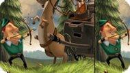 Игра Робин Гуд 2: Найди Отличия